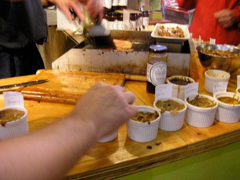 Mustard sampling