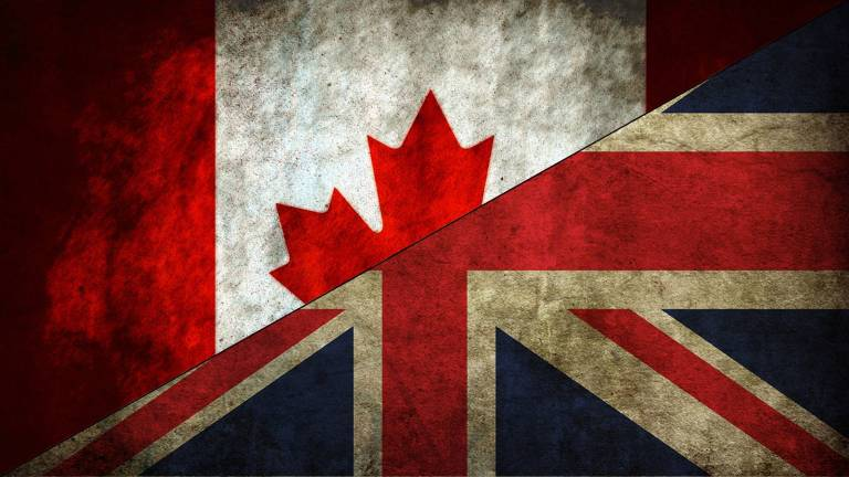 Canadian UK flag